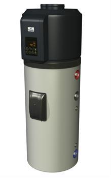 Водонагреватель с тепловым насосом HAJDU HB 300