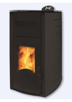 Пеллетный камин BURNIT PM COMFORT PLUS 13KW B BLACK