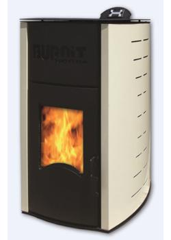 Пеллетный камин BURNIT PM COMFORT PLUS 25KW IVORY